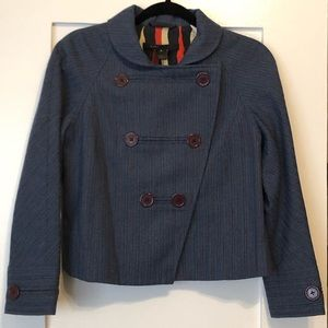 Marc by Marc Jacobs Cropped Peacoat Size Small